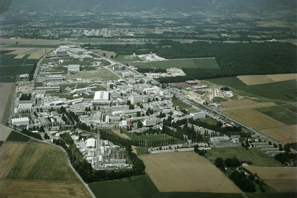 CERN 1970 Aerial view