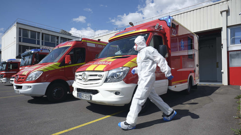 CERN Ambulance